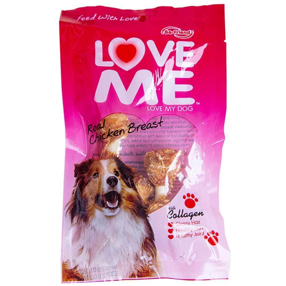 تشویقی دمبلی سگ لاومی love me