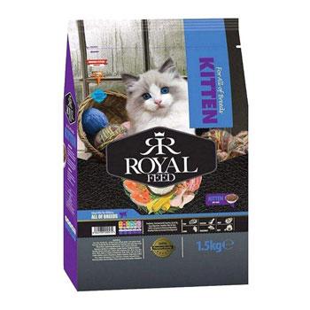 غذای خشک گربه رویال فید مدل kitten
