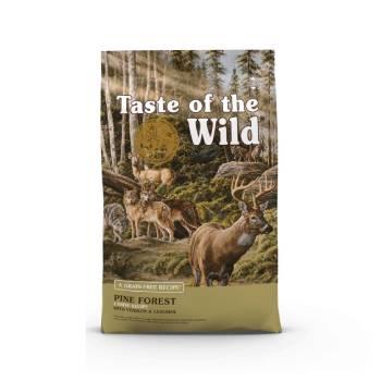غذای خشک سگ بالغ Pine Forest طعم گوشت گوزن