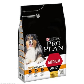 غذای خشک سگ نژاد متوسط بزرگسال پروپلن