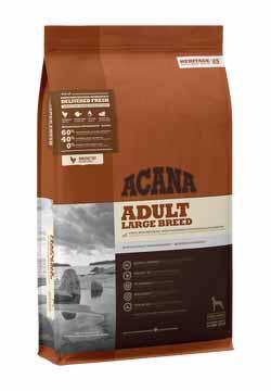 غذای خشک سگ بالغ نژاد بزرگ برند Acana