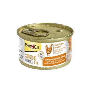 کنسرو گربه جیمکت طعم مرغ و هویج
