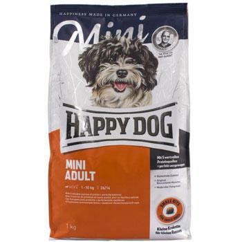 غذای خشک سگ هپی داگ مدل مینی ادالت 4 کیلویی