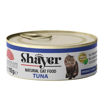 کنسرو گربه نچرال طعم ماهی تن