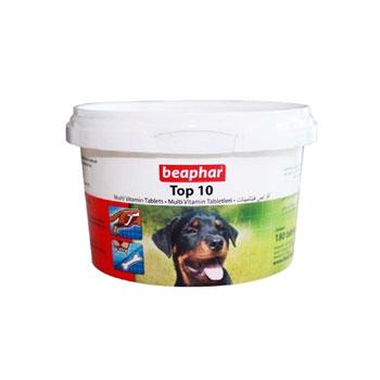 قرص مولتی ویتامین سگ مدل تاپ تن برند بیفار