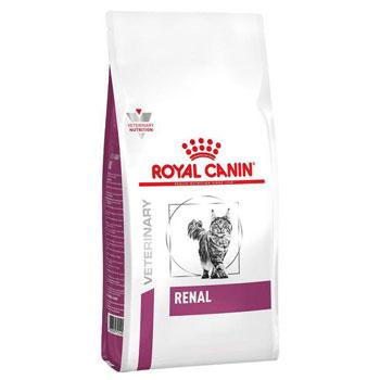 غذای خشک گربه رویال کنین مدل رنال Renal