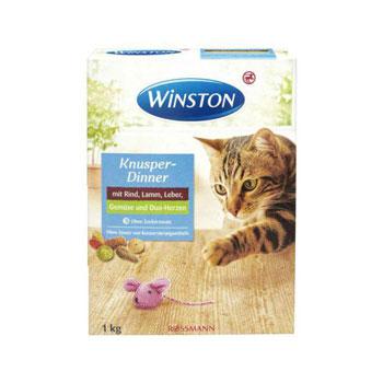 غذای خشک گربه Knusper Dinner وینستون