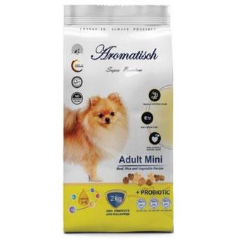 غذای خشک سگ آروماتیش مدل Adult mini beef