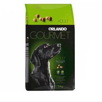 غذای خشک سگ نژاد بزرگ اورلاندو مدل گورمت